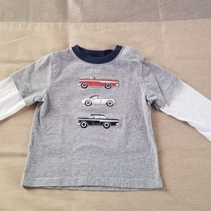 Janie and Jack Boys Long Sleeve Top